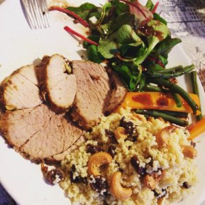 Lactogenic friendly Roast Lamb and Cous Cous