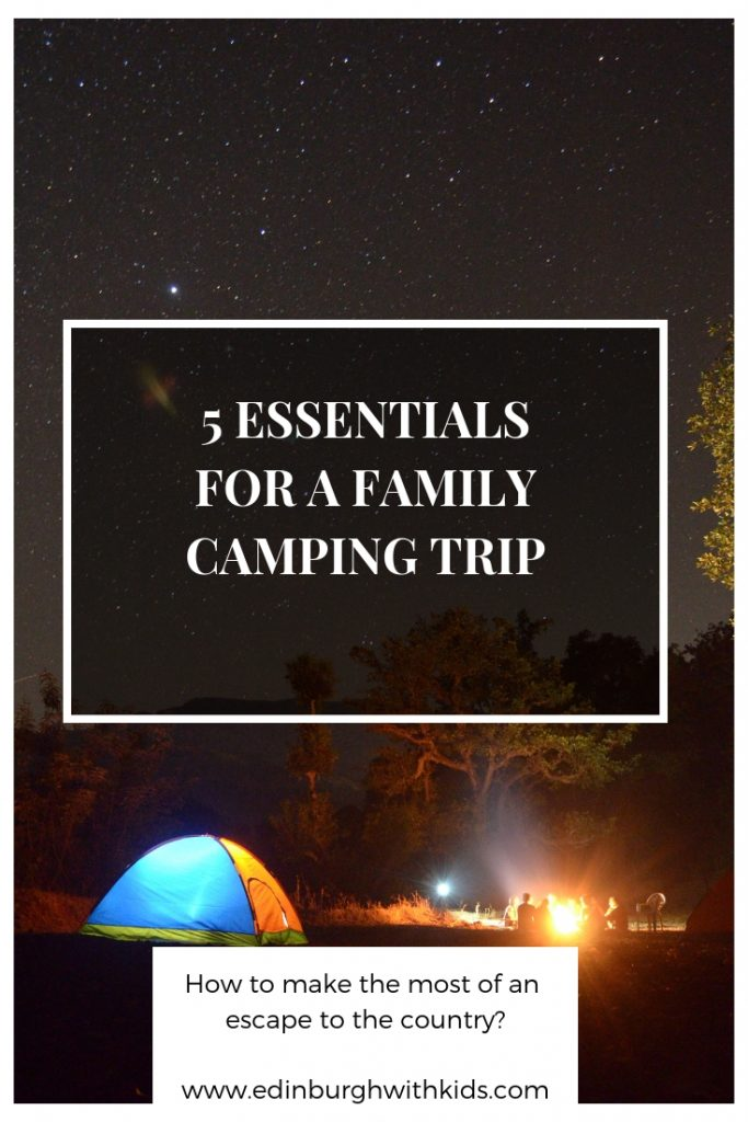 Want to know what to pack for a family camping trip? Here are the essentials you really need and some top tips for first time campers.