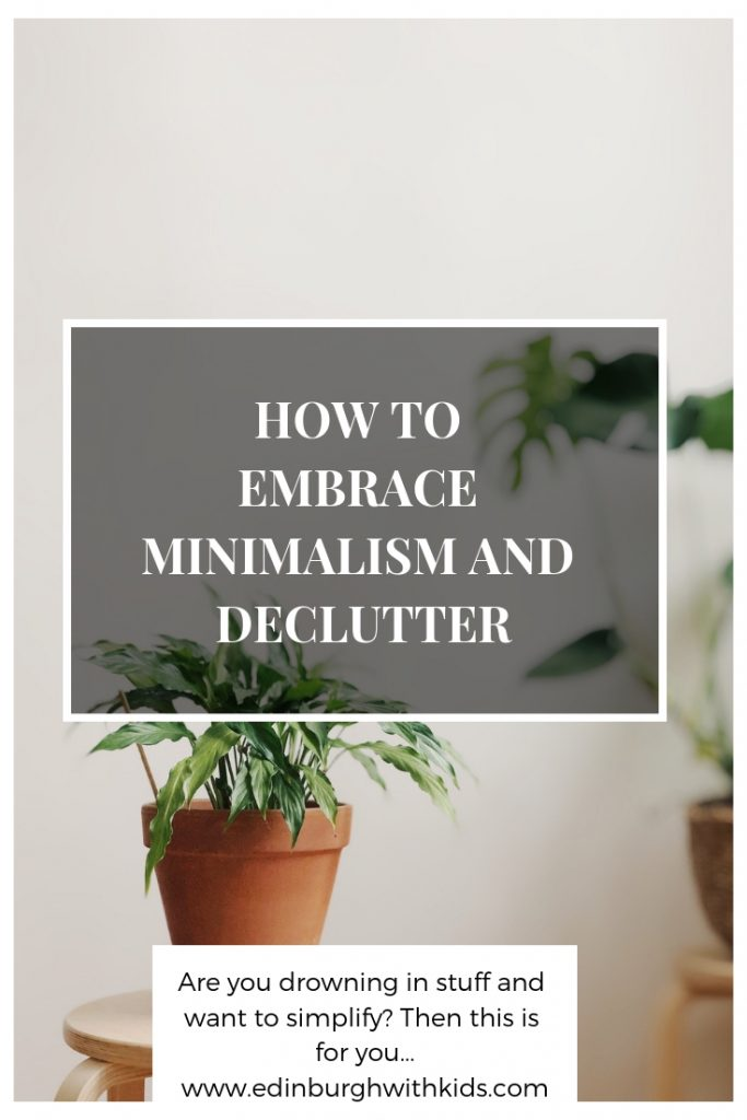 This post will teach you simple ways to declutter your home. Simple, easy and quick projects to get rid of the clutter and make it easier to look after your home. Making family life simpler and a lot less stressful.