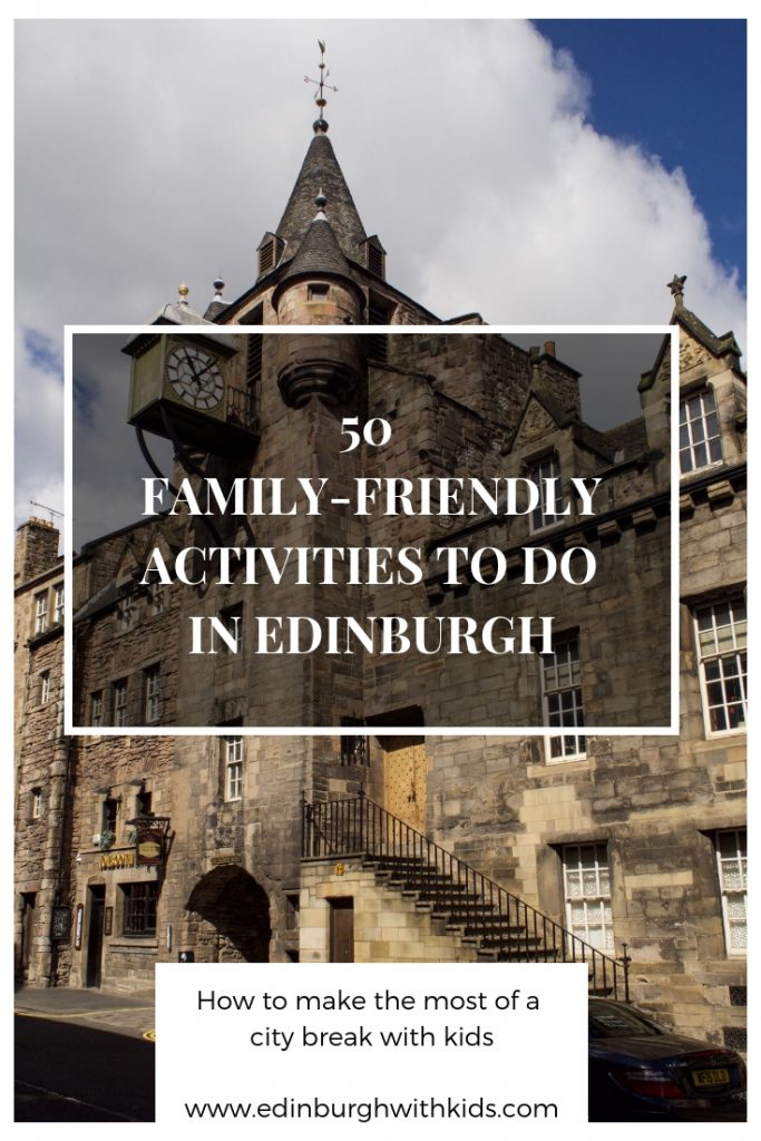 Edinburgh is a fantastic place to explore as a family. Here's 50 things to do with kids on a family city break to Edinburgh. Find out what we enjoyed on our family city break in Edinburgh, why it's a great destination to visit with kids, and which attractions to visit.