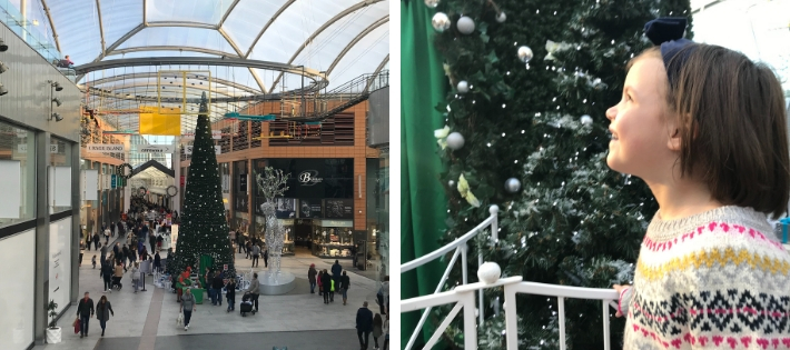 Visiting Santa at The Centre Livingston 2018
